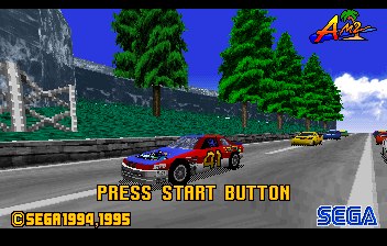 Daytona USA - Introduction  -  - User Screenshot