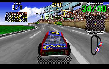 Daytona USA - Level Beginner Course -  - User Screenshot