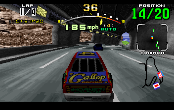 Daytona USA - Level Advamced Course -  - User Screenshot