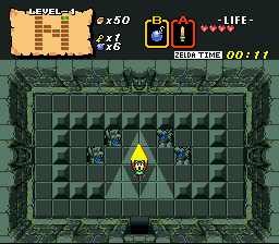 BS Zelda Map Two - Link Version hack (SNES) Game - Super Nintendo