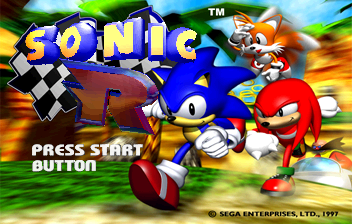 Sonic R - Introduction  - Intro Screen - User Screenshot