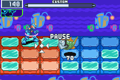 Mega Man Battle Network 6 Cybeast Falzar - Crud! Im stuck in a ring! - User Screenshot