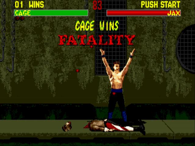 Mortal Kombat II Unlimited hack (GEN) Game - Sega Genesis