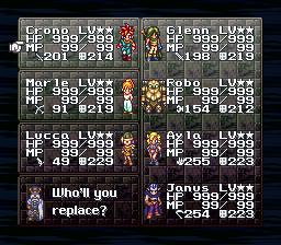 Chrono Trigger - Flames of Eternity (Ver  RC-7D) hack (SNES
