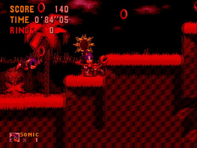 An Ordinary Sonic ROM Hack hack (GEN) Game - Sega Genesis