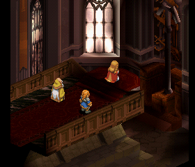 Final Fantasy Tactics 1.3 - Easy Type - Level  - game starts in orbonne monastry - User Screenshot