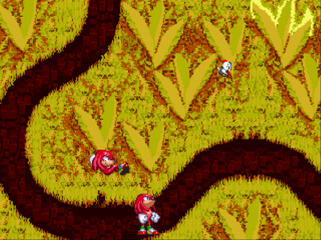 Sonic 3 Complete - two knuckles:)  - User Screenshot