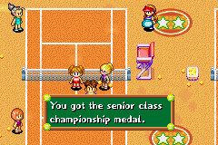 Play Mario Tennis - Power Tour Online GBA Game Rom - Game