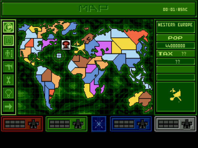 Syndicate - World Map  -  - User Screenshot