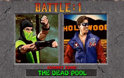 Mortal Kombat II (rev L3 1) (MAME) Game - Arcade - User