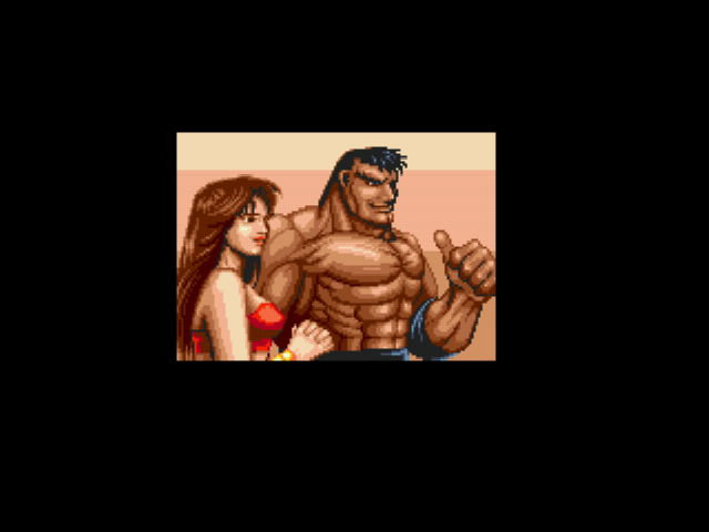 Streets of Rage 2 - Cut-Scene  - GET TO THE CHOPPER!!! - User Screenshot