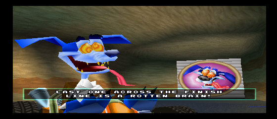 Crash Team Racing - Character Profile Ripper Roo - Best crazy villain EVER. :D - User Screenshot