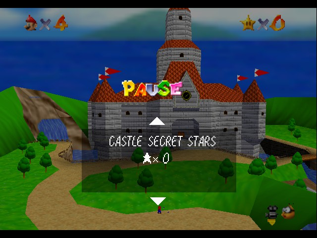 Super Mario 64 Beta by Dudaw12 (alternate version) hack (N64