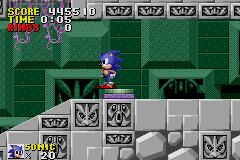 Play Sonic The Hedgehog Genesis Online Gba Game Rom Game Boy Advance Emulation On Sonic The Hedgehog Genesis Gba