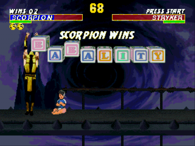 Ultimate Mortal Kombat 3 Gen Game Sega Genesis Game