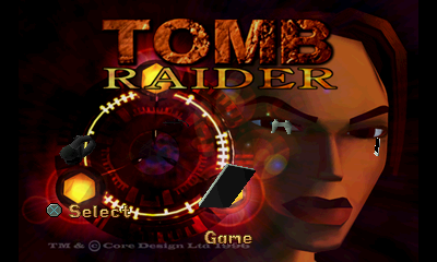 Tomb Raider - Menus Title Screen -  - User Screenshot