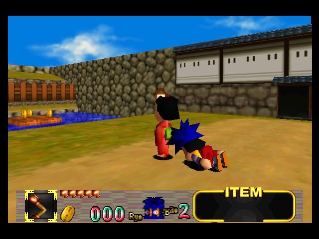 Play Mystical Ninja Starring Goemon Online N64 Game Rom - Nintendo