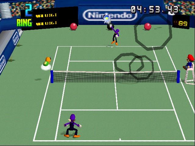 Play Mario Tennis Online N64 Game Rom - Nintendo 64
