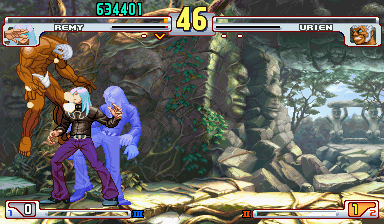 Street Fighter III 3rd Strike: Fight for the Future (Euro 990608) - Misc ? - *the ghost keeps whispering in my ear to kill - User Screenshot