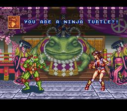 Play Teenage Mutant Ninja Turtles - Tournament Fighters