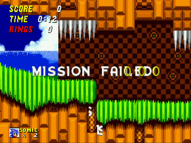 Play Sonic 2 Secret Rings Edition Online Gen Rom Hack Of Sonic The