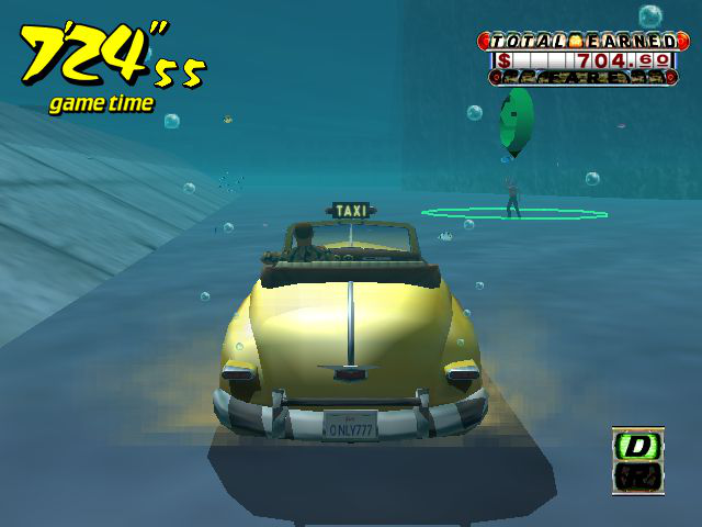 Crazy Taxi - Level  - ...he wanted to go to the aquarium  - User Screenshot