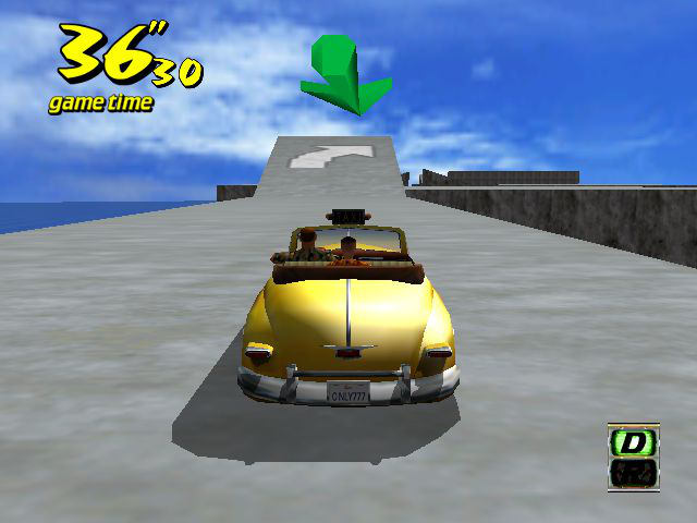 Crazy Taxi - Mini-Game  - crazy bound - User Screenshot