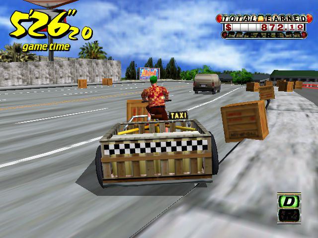 Crazy Taxi - Location  - bike cheat - User Screenshot