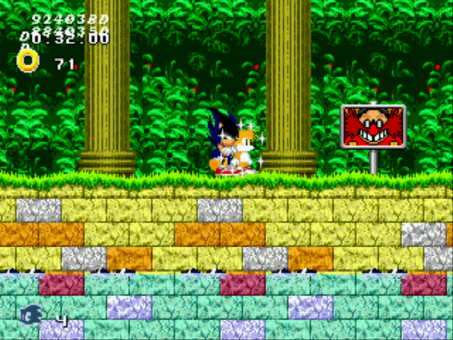 Play Sonic 2 - Aluminum Edition Online GEN Rom Hack of Sonic the