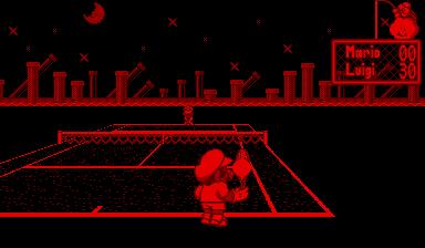 Play Mario's Tennis Online VB Game Rom - Virtual Boy