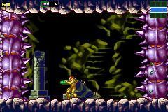 Metroid Zero Mission - Menu Hack hack (GBA) Game - Game Boy Advance