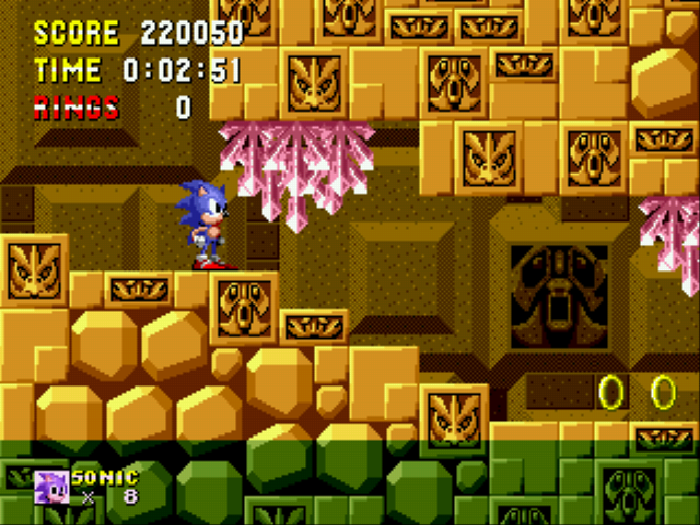 Play Sonic 1 Megamix (beta 4 0) Online SCD Game Rom - Sega