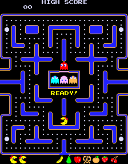 Ms. Pac-Man II (Orca bootleg set 2) - Level - Level 8 - User ...