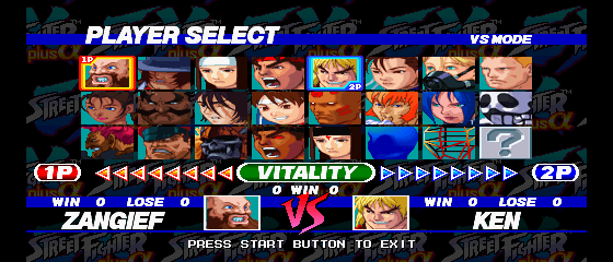 Play Street Fighter Ex Plus Alpha Online Psx Game Rom
