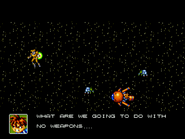 Gunstar Heroes - Ending  - done guess what thinking - User Screenshot
