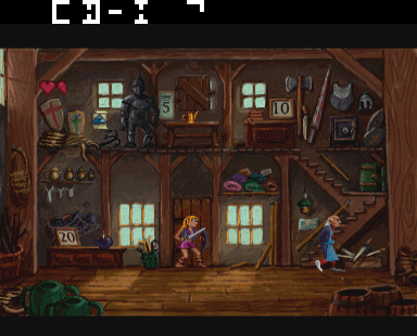 Play Zelda: The Wand of Gamelon Online CDI Game Rom - CD-i Emulation