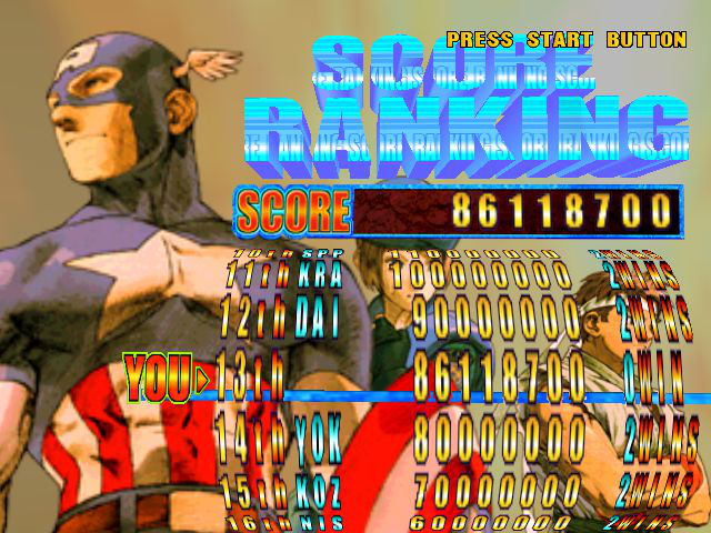 Play Marvel vs  Capcom 2: New Age of Heroes Online DC Game