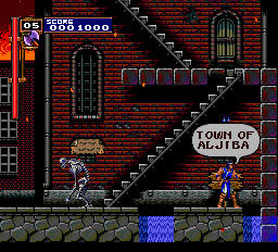 Castlevania - Rondo of Blood (english translation) - Level 1 -  - User Screenshot