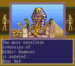 Civilization - Cut-Scene  - Rameses - User Screenshot