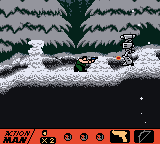 Action Man - Level  - Enemy masqueraded as snow pile! D= - User Screenshot