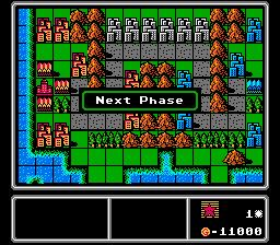 Play Famicom Wars (english translation) Online NES Rom Hack
