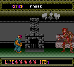 Splatterhouse - Battle  - Jen boss - User Screenshot