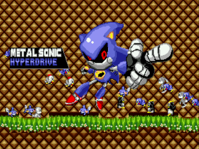 Metal Sonic Hyperdrive (Beta 2) - Ending  - Jaj - User Screenshot