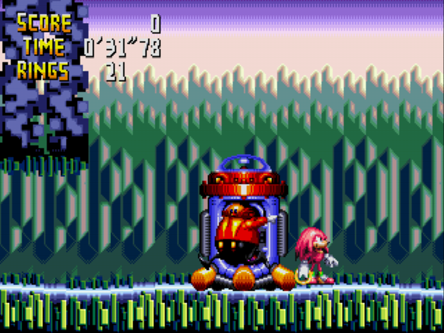 Play Sonic in Chaotix Online 32X Rom Hack of Knuckles' Chaotix