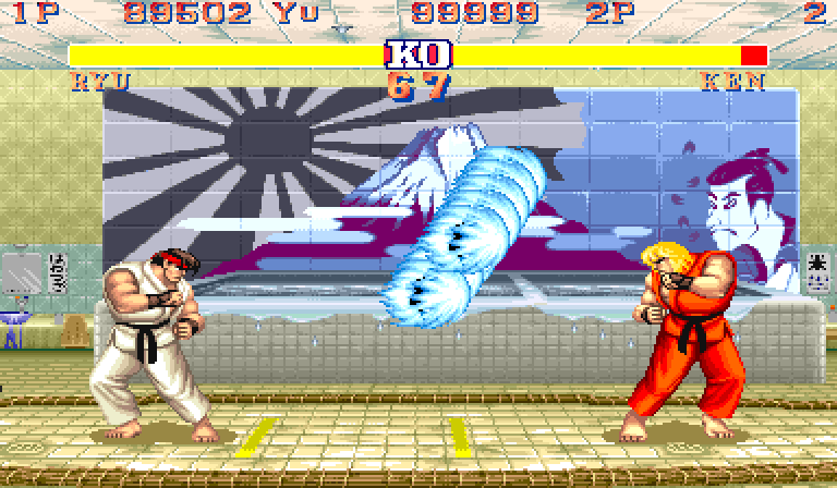 Play Street Fighter II Koryu Online MAME Rom Hack of Street Fighter