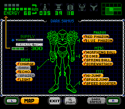 Play Super Metroid Phazon Online SNES Rom Hack of Super