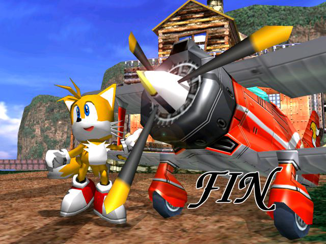 Sonic Adventure - Ending  - Tails story complete! - User Screenshot