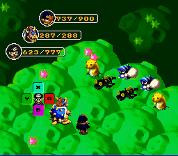 Play Super Mario RPG - Mario is a Drug Addict Online SNES