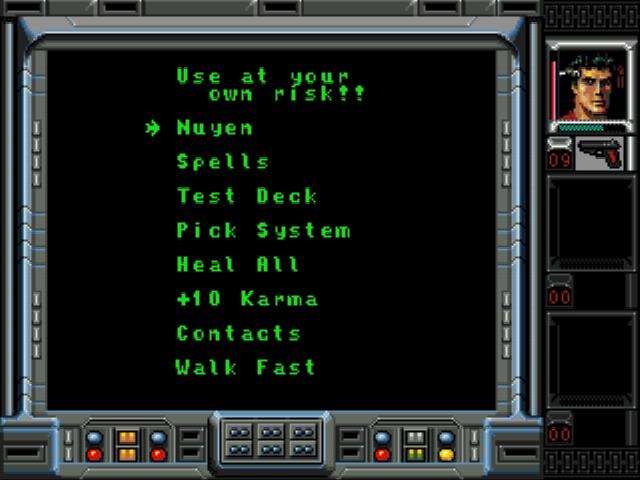Play Shadowrun Online GEN Game Rom - Sega Genesis Emulation