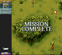 Cannon Fodder - Mission 2 Cleared! - User Screenshot
